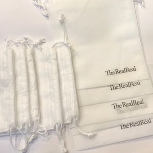 Set of 10 White Dust&Storage Bags. #4